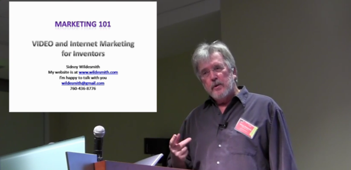 Sidney Wildesmith -Video and Internet Marketing for iInventors